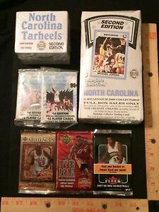 (1) Sealed UNC Collegiate box, (2) packs, (1) set, (3) 2007 08 basketball