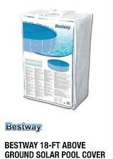 Bestway 18 Foot Round Above Ground Swimming Pool Solar Heat Cover Fits Intex