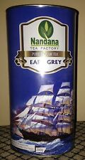 Earl Grey Pure Ceylon Loose Leaf Tea with Bergamot oil Citrus Flavour 200g Tin