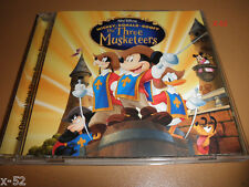 Disney THREE MUSKETEERS soundtrack CD Mickey Mouse Donald Duck Goofy Pluto 3