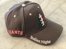 San Jose Giants San Francisco Giants Minor League Baseball Italian Night Hat Cap