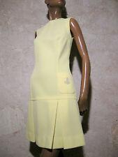 CHIC VINTAGE ROBE 1970 VTG DRESS 70s KLEID 70er ABITO ANNI 70 VESTIDO (36/38)