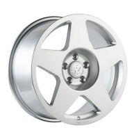 17X9 Fifteen52 Tarmac 5x100 +30 Silver Wheels Aggressive Fits Corolla Celica Wrx