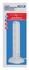 10 Toma SALIDAS 2 m Red Eléctrica PROTEGIDA CONTRA SOBRECARGA Cable de Extensión