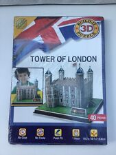 Build-It 3D Puzzle. Tower Of London.  New, Sealed & Unopened