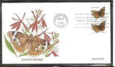 US SC # 4000 Common Buckeye Butterflie FDC . Fleetwood  Cachet