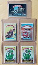 LOT of 5: 1986 Garbage Pail Kids Original 3rd Series 3 GPK OS3 (UK MINI CARDS)