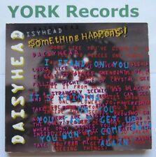SOMETHING HAPPENS - Daisyhead - Excellent Condition CD Single Virgin VSCDG 1407