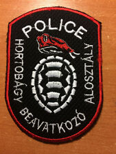 PATCH POLICE HUNGARY - SWAT - ORIGINAL!