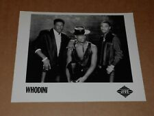 Whodini 10 x 8 1986 Jive Records Promo Photo
