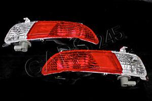 Genuine Rear Bumper Reverse Lamp Fog Light Reflector Pair BMW 6 E63 E64 04-2007