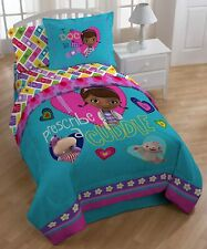 New Disney Junior Doc McStuffins Twin Reversible Comforter for Kids