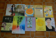 Lot of 10 Japanese Small Paperback Books