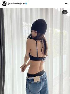 Calvin Klein x Heron Preston Black High Leg Bikini Botton Stretch Jennie Size S