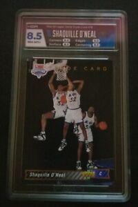 Shaquille O'Neal HGA 8.5 1992-93 Upper Deck #1B Rookie Basketball Card