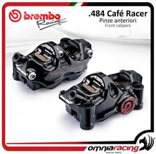 Brembo 2 pinze freno radiali P4 32 CNC 484 INT 108mm Cafe racer kit SX+DX