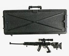 "FIG-WP1: FIGLot 1/12 Scale Sniper Rifle & Case for 6"" Marvel Deadpool Punisher"
