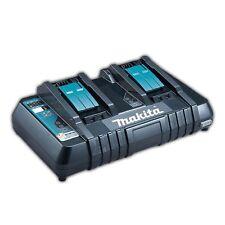 Makita DC18RD 2-Fach Akku Schnell Ladegerät 230V 14,4V 18V USB Schnellladegerät