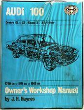 Haynes - Audi 100 Owner's Workshop Manual - Used Few Marks - T48