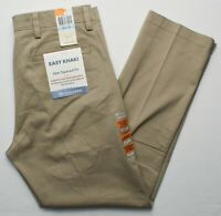 Dockers #9797 NEW Men's Flat Front Slim Tapered Fit Easy Khaki Stretch Pants