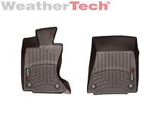 WeatherTech FloorLiner Mats for Lexus GS w/ AWD - 2013-2018 - 1st Row - Cocoa
