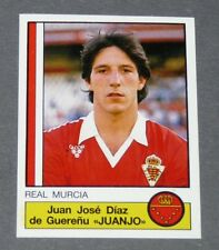 159 JUANJO REAL MURCIA PANINI LIGA FUTBOL 87 ESPAÑA 1986-1987 FOOTBALL