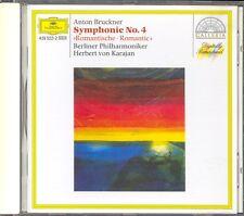 BRUCKNER - Symphony 4 - Herbert Von KARAJAN / Berliner Philharmoniker - DG