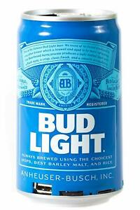Bud Light Portable Bluetooth Wireless Rechargeable Can Speaker