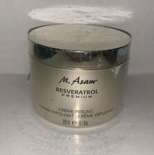 M. Asam Resveratrol Premium Face Exfoliant Peeling Creme 10.1 oz New Sealed