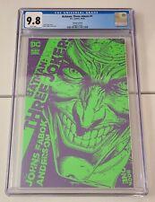 Batman Three Jokers #1 CGC 9.8 | Incentive (1:25) Jason Fabok Variant (2020 DC)