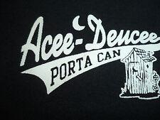 ACEE-DEUCEE PORTA CAN t shirt sz XL potty toilet outhouse EUC