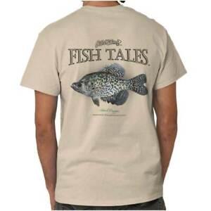Gill McFinns Black Crappie Fish Sporting Womens or Mens Crewneck T Shirt Tee
