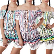 Damen Jumpsuit Hot Pants Overall Einteiler Hosenanzug Catsuit Capri Shorts N860