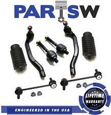 8 Pc Suspension Kit for Honda Prelude 1997-2001 Tie Rod Ends & Rear Sway Bars