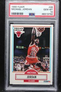 1990 Fleer 26 Michael Jordan PSA 10 Chicago Bulls