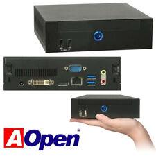 Mini PC AOPEN DE67-HA NUC, i3-2370M, 2x 2,4GHz, 4GB RAM, 320GB HDD, Windows 10