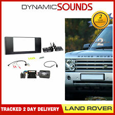 CTKLR04 Double Din Fascia Steering Aerial Fitting Kit For Land Rover Range Rover
