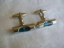 Silver SPIRIT LEVEL CUFF LINKS PERFECT gift for carpenter builder joiner...