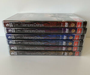 The Vampire Diaries: Seasons 1 - 6 DVD, 30 Disc Collection- Like New Condition