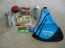 Dymatize Nutrition Sling Backpack w/ 9 items