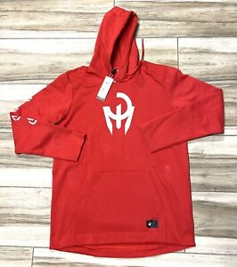 Adidas NFL Football Patrick Mahomes Red Pullover Hoodie Mens Large Tall New