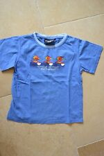 Wild Kiwi Boys Age 8 Short Sleeved T Shirt in Blue