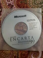 Microsoft Encarta Encyclopedia 99 Windows Cd Rom Software