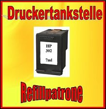 refillpatrone HP 302XL 7ml deskjet 1110 2130 3630 OFFICEJET 3830 4650 Envy 4520