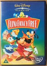 Fun And Fancy Free DVD 1947 Walt Disney 9th Animated Classic Mickey Mouse