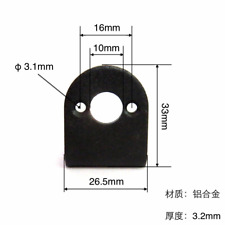 MOUNTING BRACKET FOR 385 345/380/395 SIZE R/C BOAT MOTORS EXPO 90 degrees