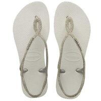 Havaianas Ciabatta Sandalo Infradito Donna Luna Premium Branco