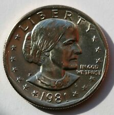1981 P Susan B Anthony Dollar BU Condition US Coin