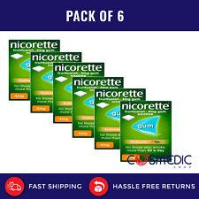 6X Nicorette Fruitfusion 4mg Gum Nicotine 105 Pieces