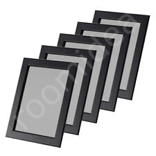 5 Stück Set IKEA FISKBO 21x30cm Fotorahmen Bilderrahmen schwarz (DIN A4) Neu